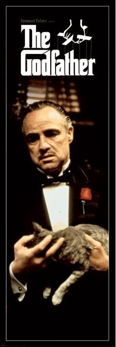 Poster  THE GODFATHER - cat