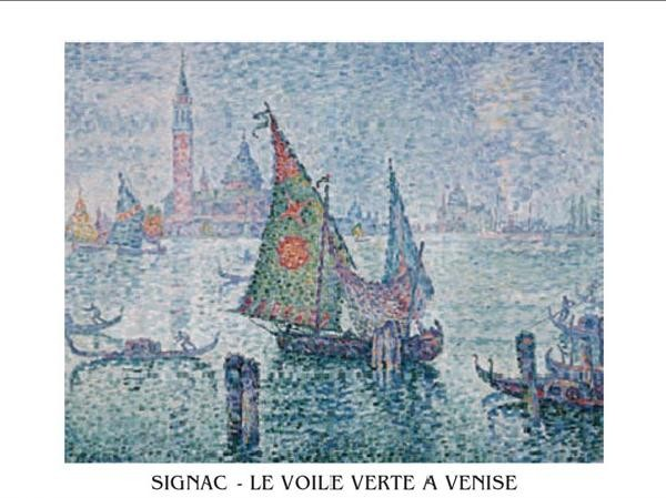 The Green Sail, Venice, 1902 Kunstdruck