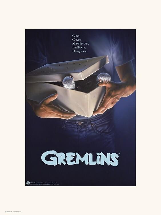 Konsttryck The Gremlins - Originals