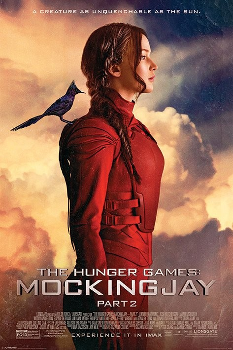 Poster The Hunger Games 3: Mockingjay del 2 - The Mockingjay