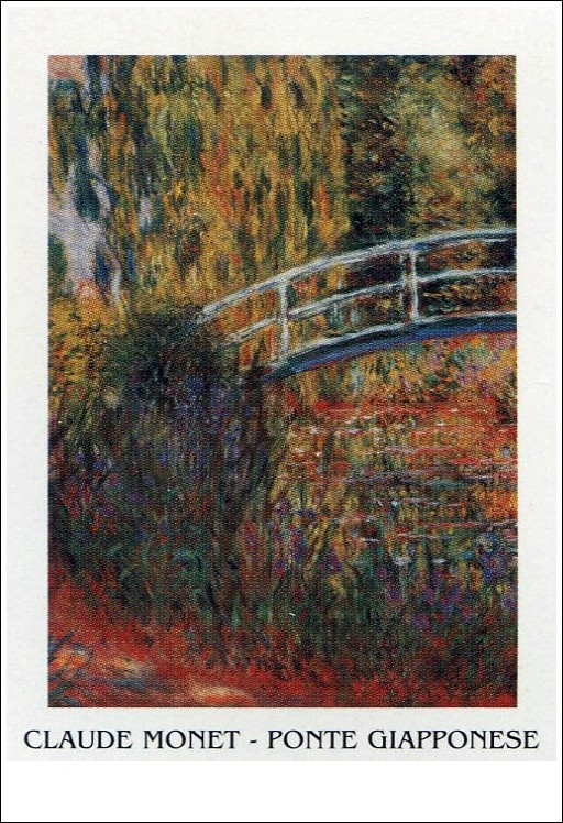 The Japanese Bridge - The Japanese Footbridge, 1899 Kunstdruck