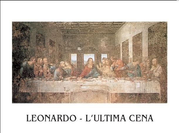 The Last Supper Kunstdruck