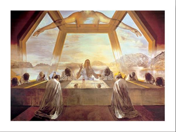 The Sacrament of the Last Supper, 1955 Kunstdruck