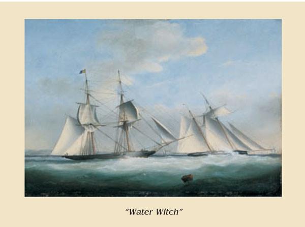 The Ship Water Witch Kunstdruck