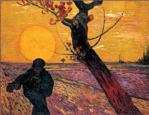 The Sower, 1888 Kunstdruck