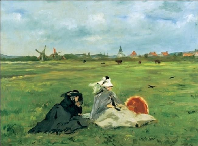 The Swallows, 1873 Kunstdruck