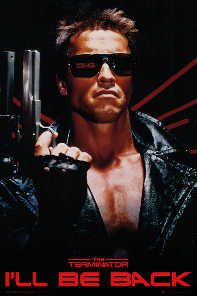 Poster The Terminator - I'll Be Back