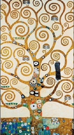 Konsttryck The Tree Of Life - Stoclit Frieze, 1918