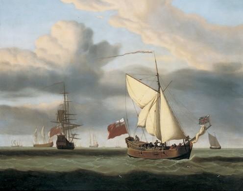 The Yacht Royal Escape Kunstdruck