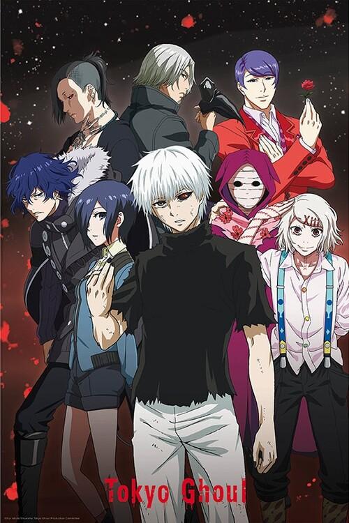 Плакат Tokyo Ghoul - Group