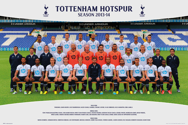 Poster Tottenham Hotspur FC - Team Photo13/14