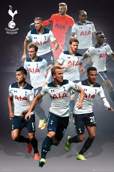 Poster Tottenham - Players 16/17