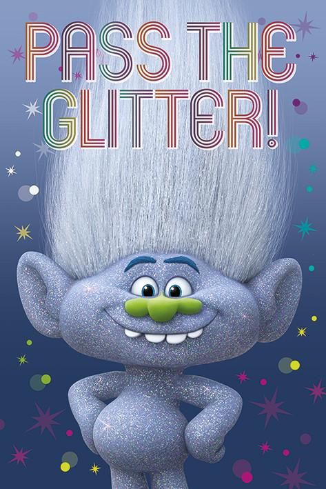 Poster Trolls - Diamond Guy