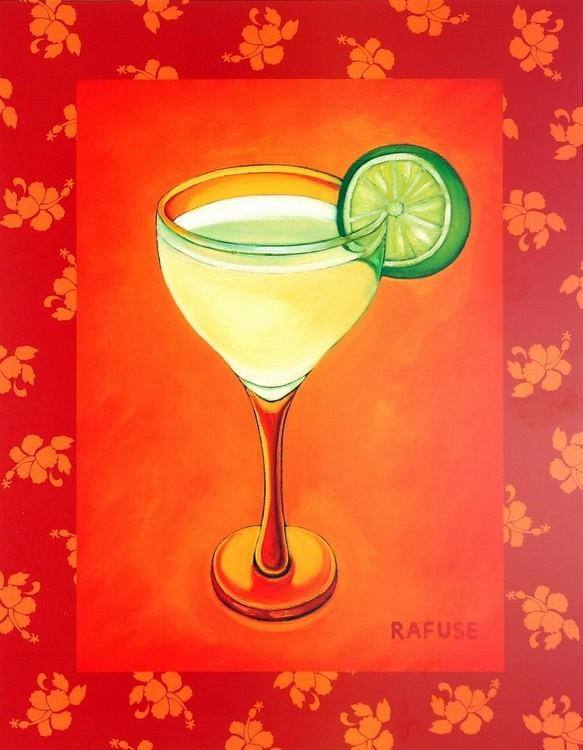 Tropical Cocktail I Kunstdruck