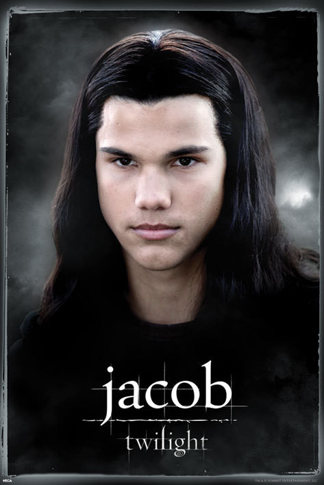 Poster TWILIGHT - jacob