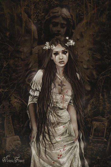 Poster Victoria Frances - anatheme