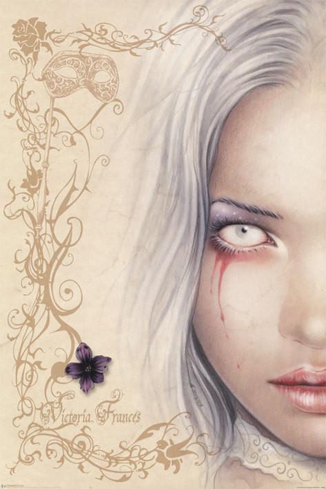 Poster Victoria Frances - blood tears