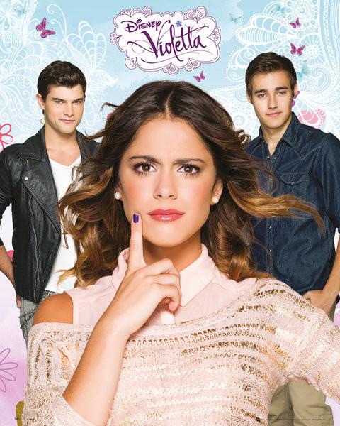 Poster Violetta - Love