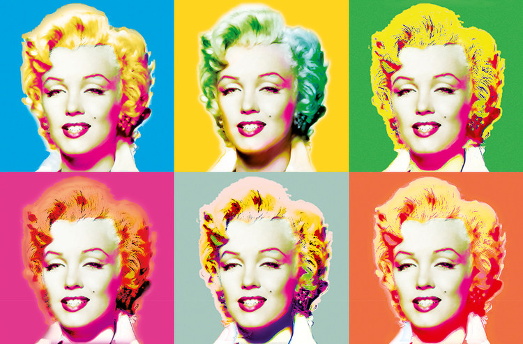 Poster VISIONS OF MARILYN