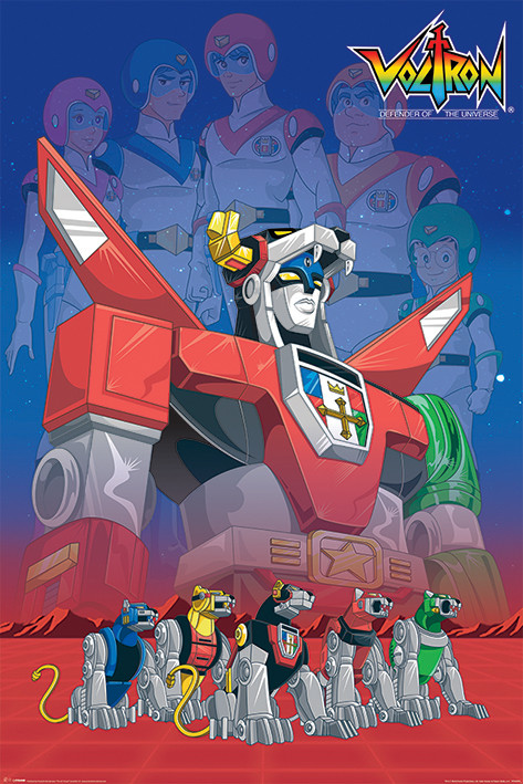 Poster Voltron - Legacy