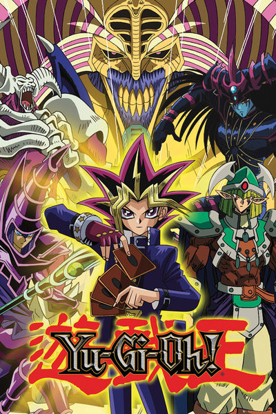 Poster YU GI OH! - Yugi and Monsters
