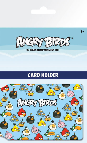 Angry Birds - Pattern Pouzdro na karty