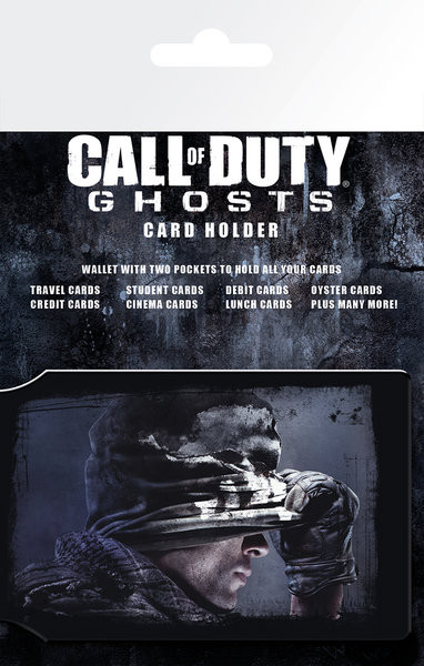 Call of Duty Ghosts - Cover S.O.S Pouzdro na karty