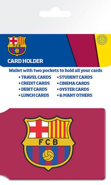 FC BARCELONA - crest Pouzdro na karty