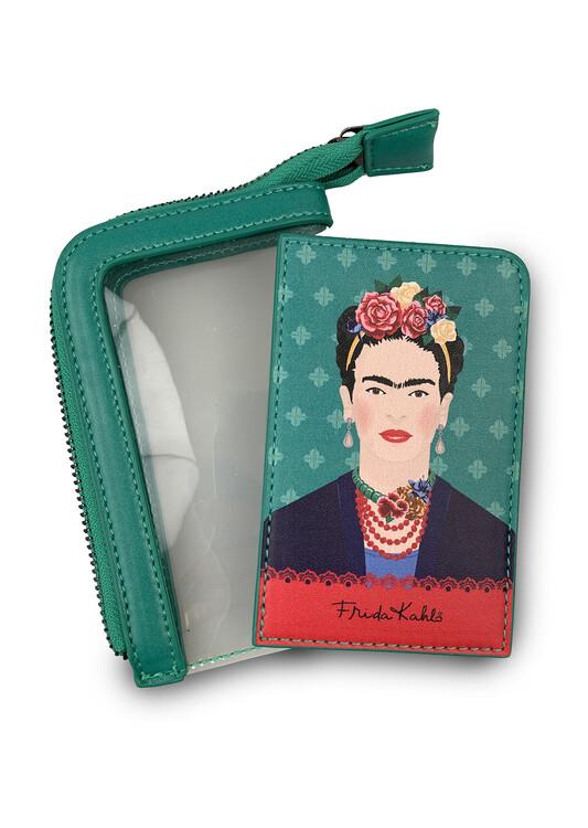 Pouzdro na karty Frida Kahlo - Green Vogue