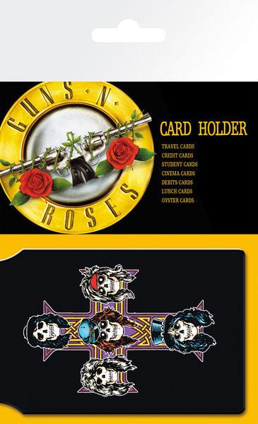7127fbd8d Pouzdro na karty GUNS N ROSES - logo | Nakupujte na Posters.cz