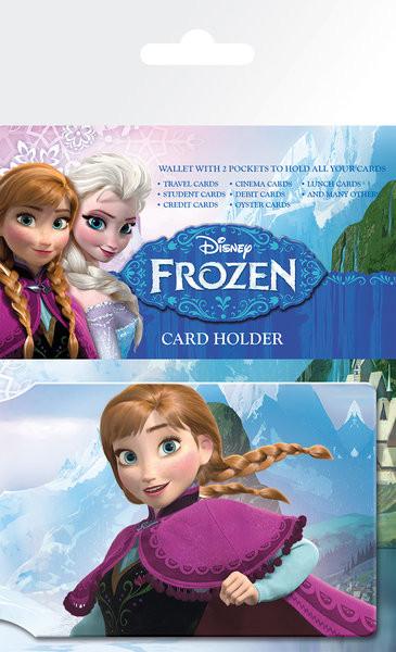 Ledové království - Anna Pouzdro na karty