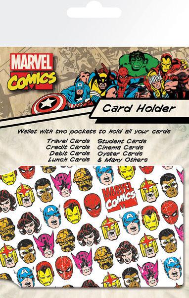 MARVEL - faces Pouzdro na karty