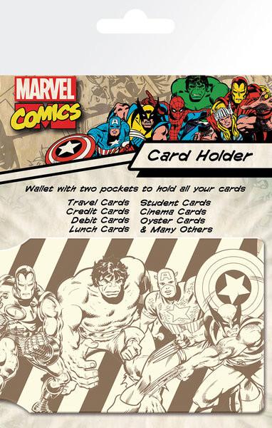 MARVEL - heroes Pouzdro na karty