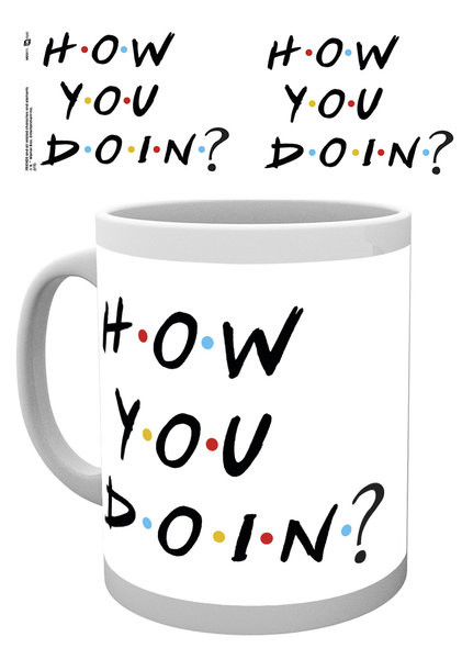 Hrnek Přátelé TV - How You Doin