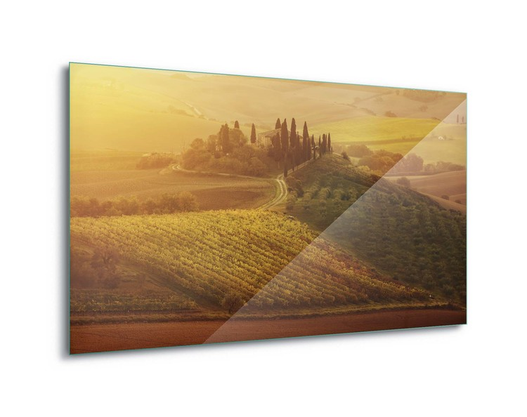Tuscan Dream Print på glas