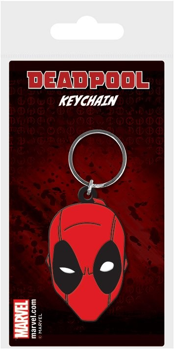 Privjesak za ključ Deadpool - Face