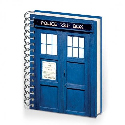 DOCTOR WHO - zápisník A5 Psací potřeby