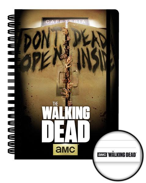 The Walking Dead - Dead Inside A5 Notebook Psací potřeby