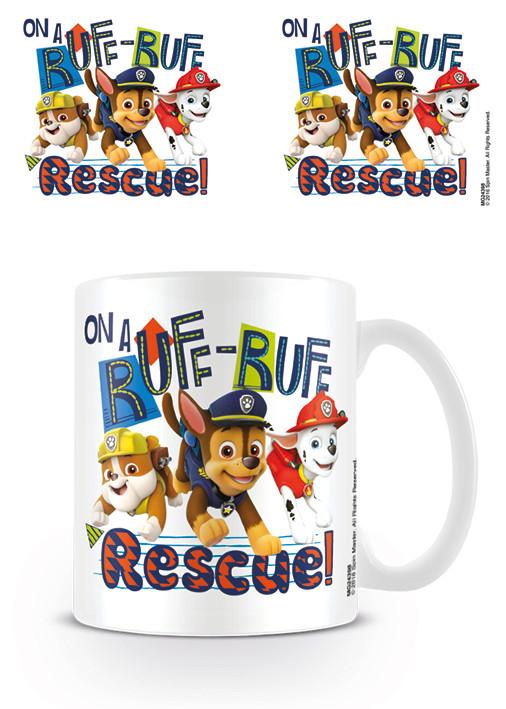 Kubek Psi patrol - Ruff-Ruff Rescue