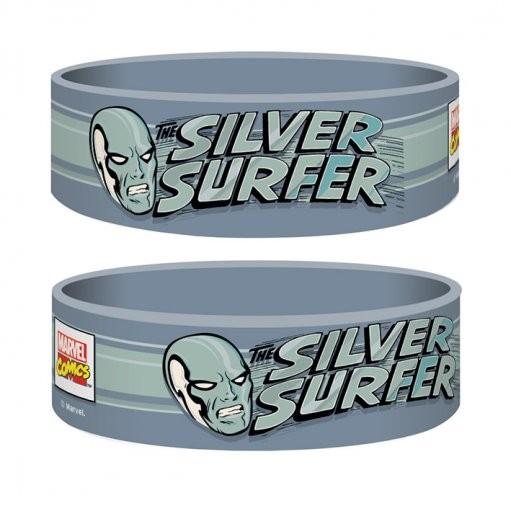 Marvel Retro - Silver Surfer Pulseras de silicona