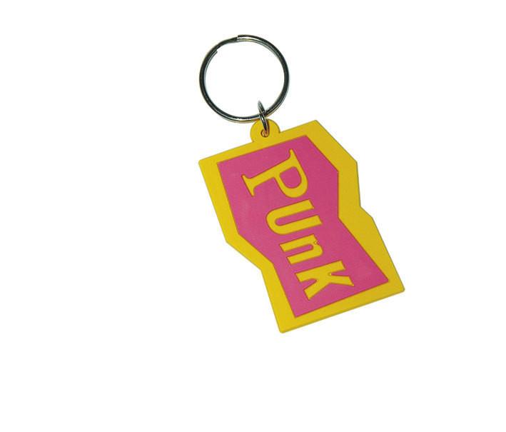 PUNK - Pink kulcsatartó