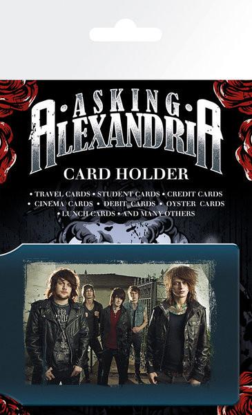 ASKING ALEXANDRA - band Púzdro na karty