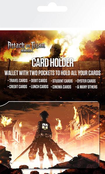Attack on Titan (Shingeki no kyojin) - Key Art Púzdro na karty