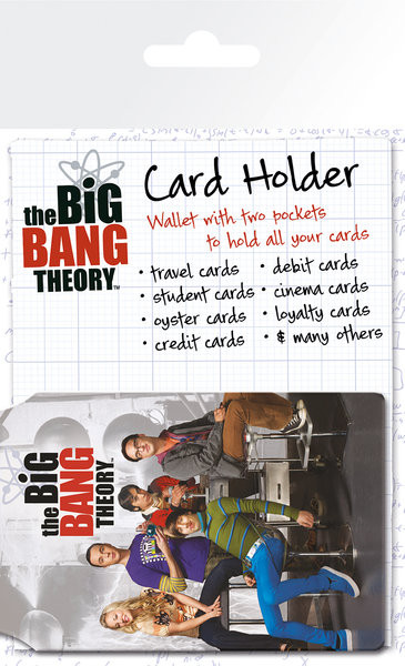 BIG BAG THEORY - classroom Púzdro na karty
