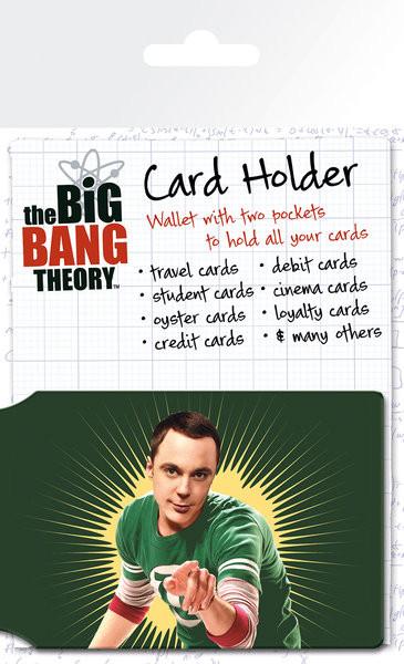 Teória veľkého tresku (The Big Bang Theory) - Bazinga Púzdro na karty