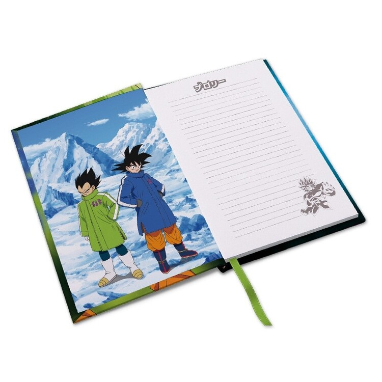 Quaderno Dragon Ball - Broly vs Gokus & Vegeta