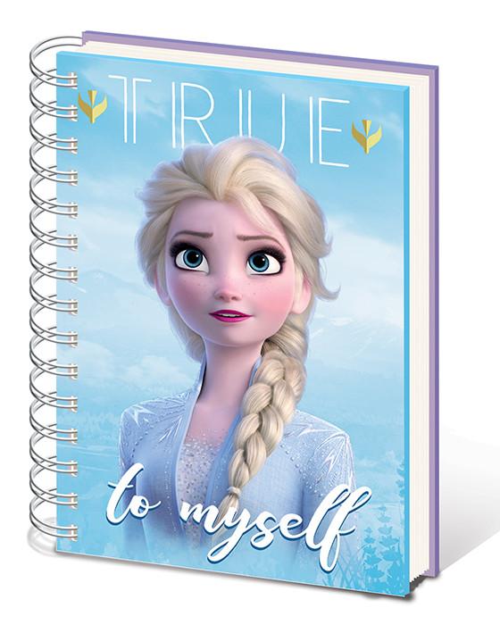 Quaderno Frozen: Il regno di ghiaccio 2 - Sisters