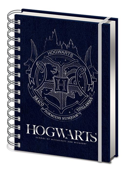 Quaderno Harry Potter - Cobalt Steel Crest