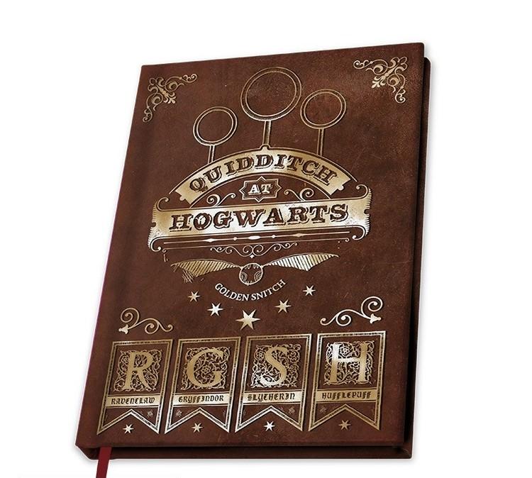Quaderno Harry Potter - Quidditch
