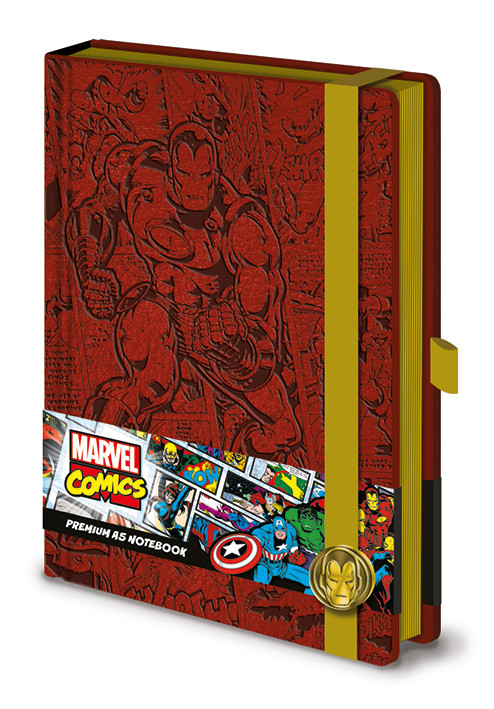 Quaderno Marvel - Iron Man A5 Premium